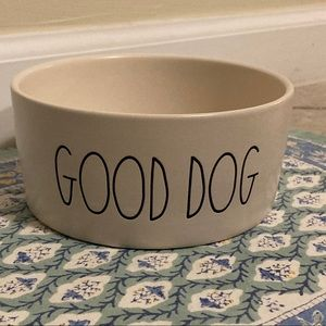 "🐶 Rae Dunn's 6"" Dog Bowl - GOOD DOG"